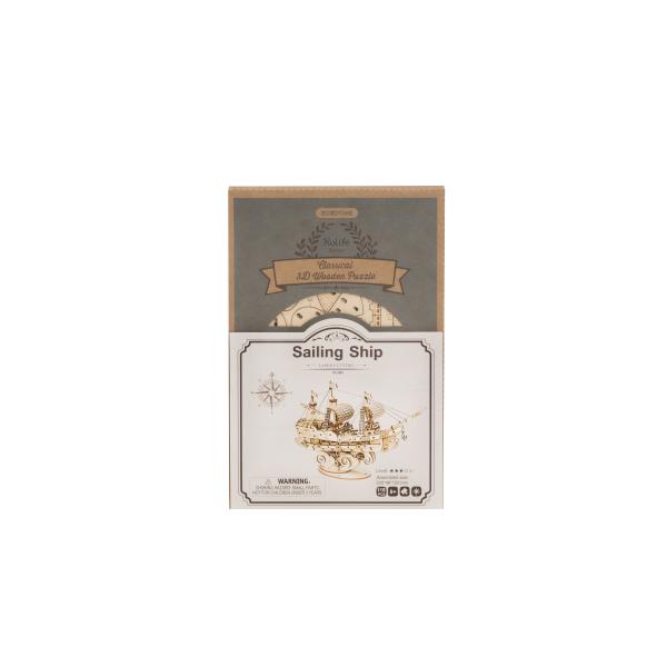 Puzzle 3D Sailing ship [2]