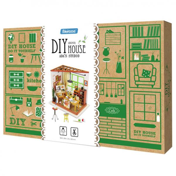 Puzzle 3D Ada's Studio [9]