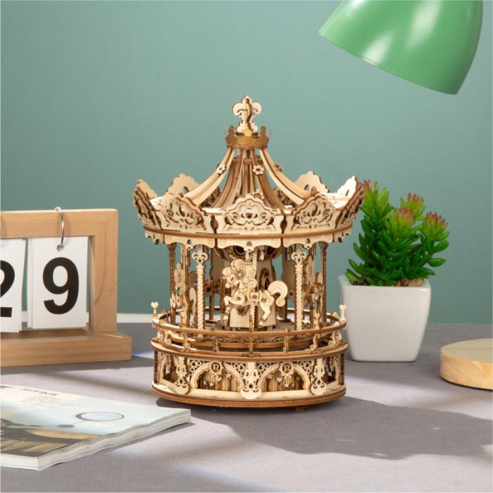 Puzzle 3D Romantic Carousel [3]