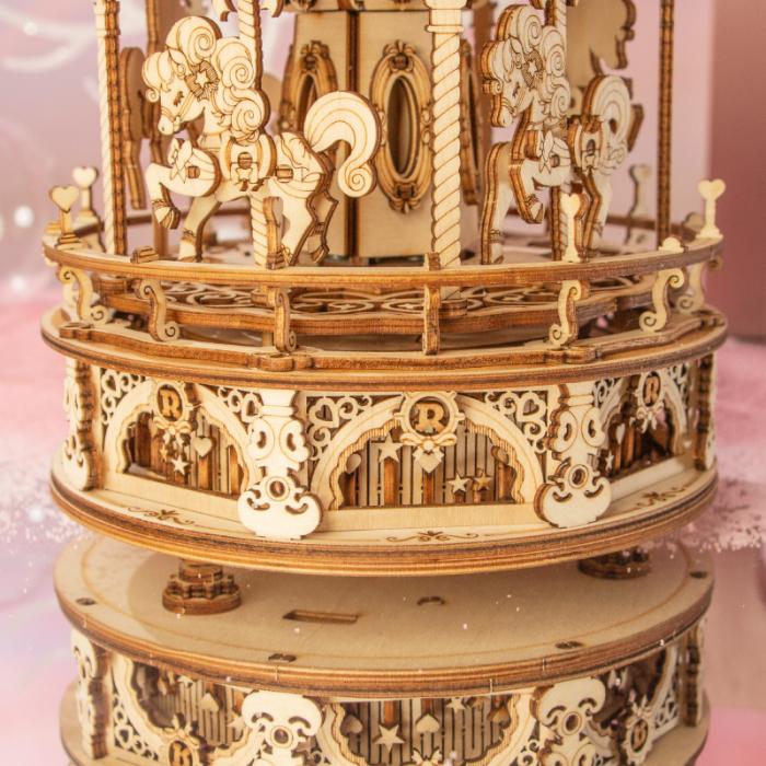 Puzzle 3D Romantic Carousel [6]