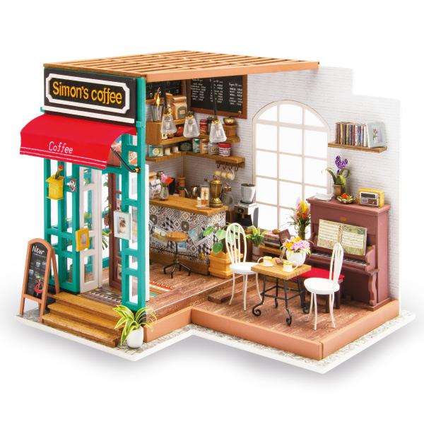 Puzzle 3D Simona's Coffee [0]