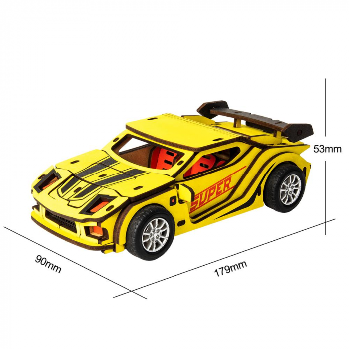 Puzzle 3D Sports Car [1]