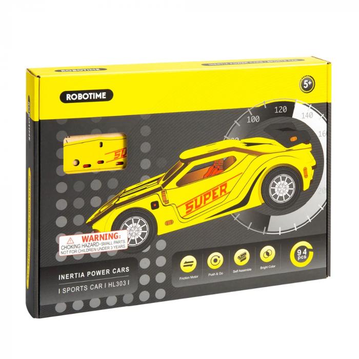 Puzzle 3D Sports Car [2]