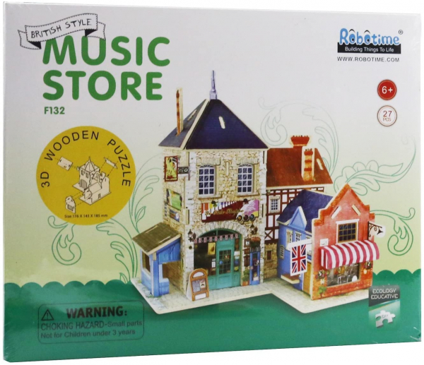 Puzzle 3D Music Store [4]