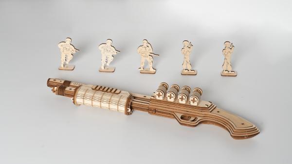 Puzzle 3D Terminator M870 Shotgun [1]