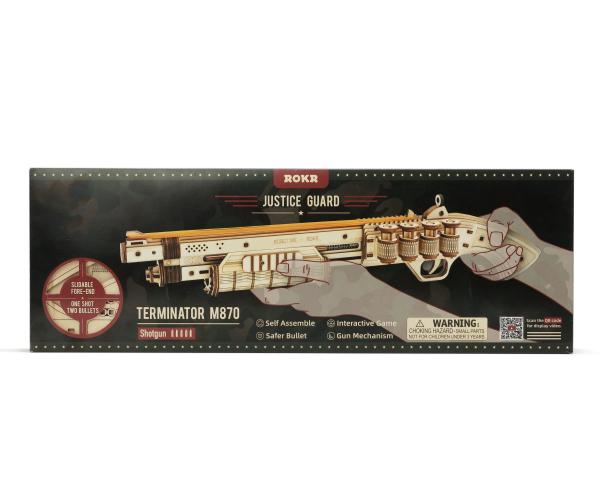 Puzzle 3D Terminator M870 Shotgun [4]