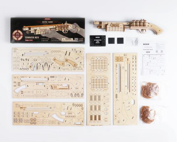 Puzzle 3D Terminator M870 Shotgun [3]