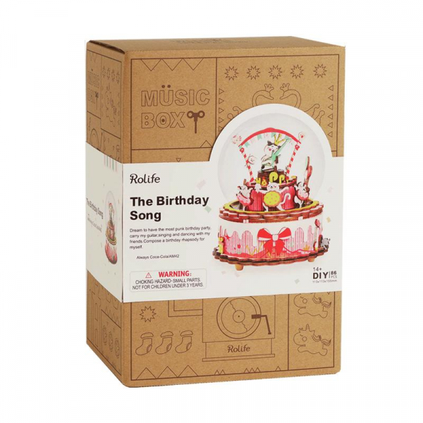 Puzzle 3D The Birthday Song [2]