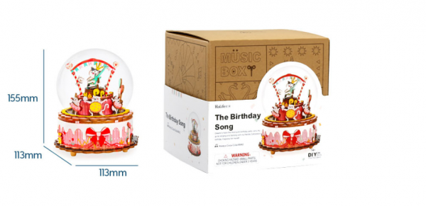 Puzzle 3D The Birthday Song [1]