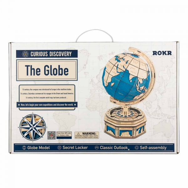 Puzzle 3D The Globe [9]