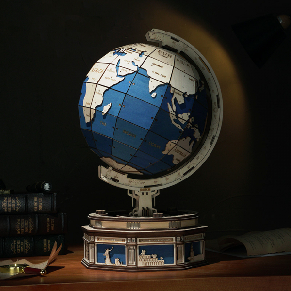 Puzzle 3D The Globe [7]