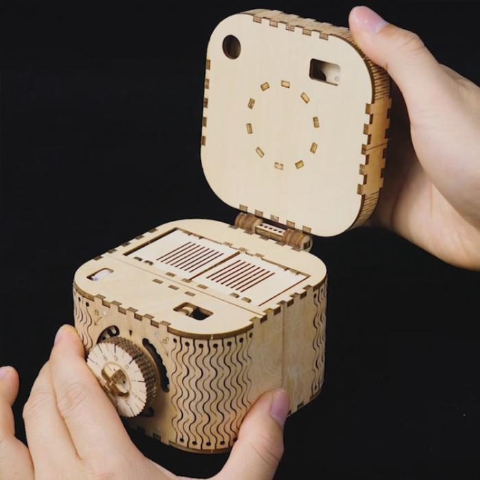 Puzzle 3D Treasure Box [7]