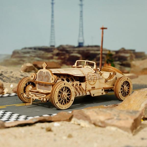 Puzzle 3D V8 Grand Prix Car [3]
