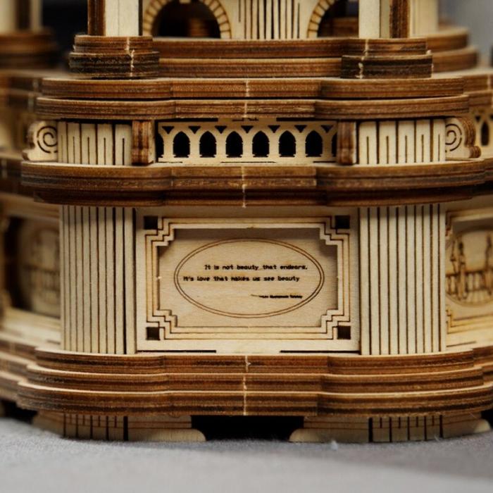 Puzzle 3D Victorian Lantern Music Box [6]