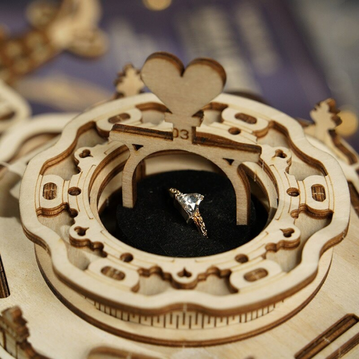 Puzzle 3D Victorian Lantern Music Box [5]