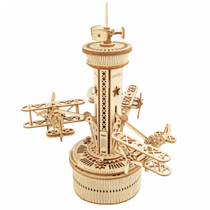 Puzzle 3D Airplane Control Tower [0]