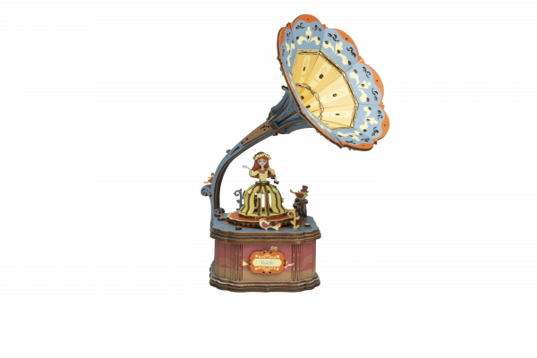Puzzle 3D Vintage Gramphone [7]