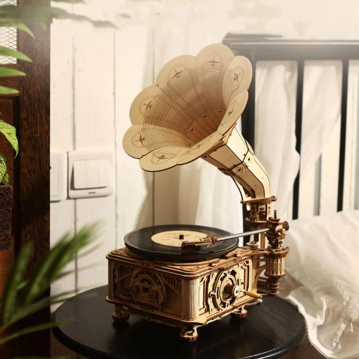 Puzzle 3D Gramophone [2]