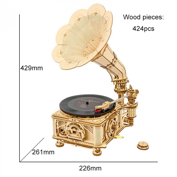Puzzle 3D Gramophone [1]