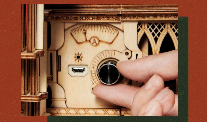 Puzzle 3D Gramophone [5]