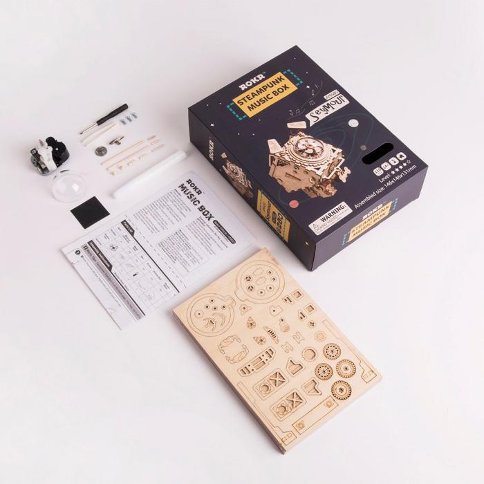 Puzzle 3D Seymour [3]
