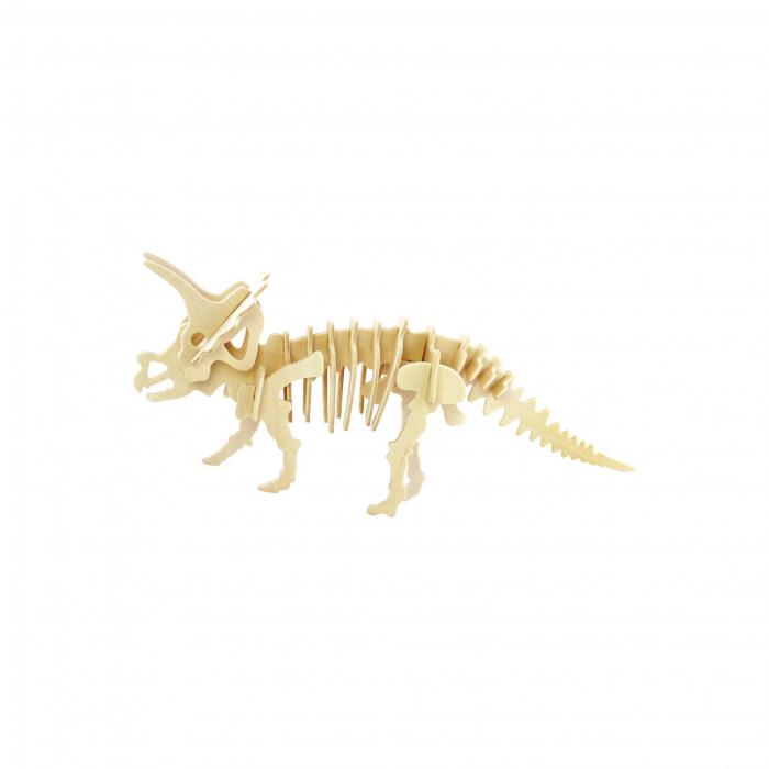 Puzzle 3D Triceratops [0]