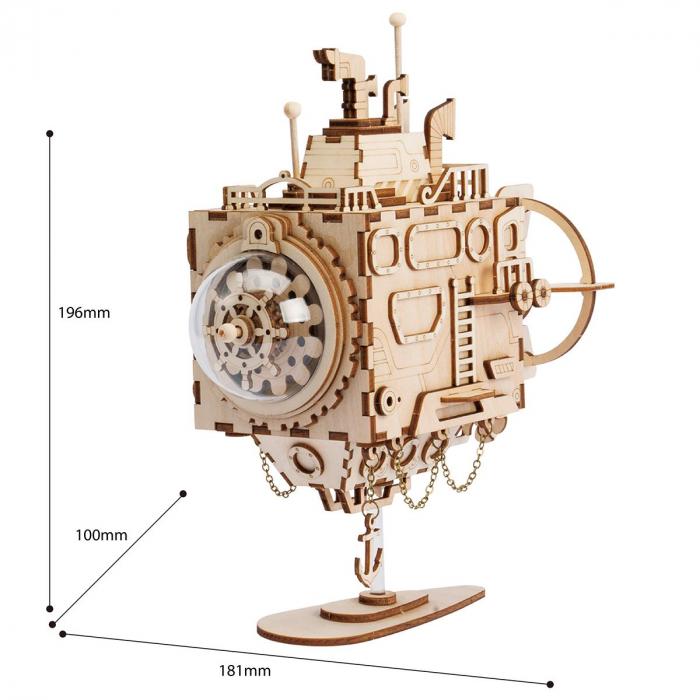 Puzzle 3D Submarine [1]