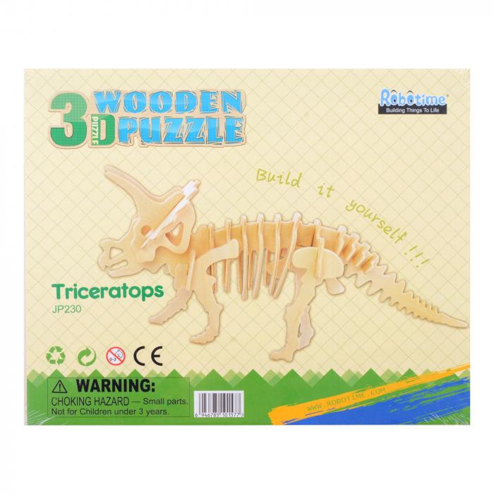 Puzzle 3D Triceratops [1]