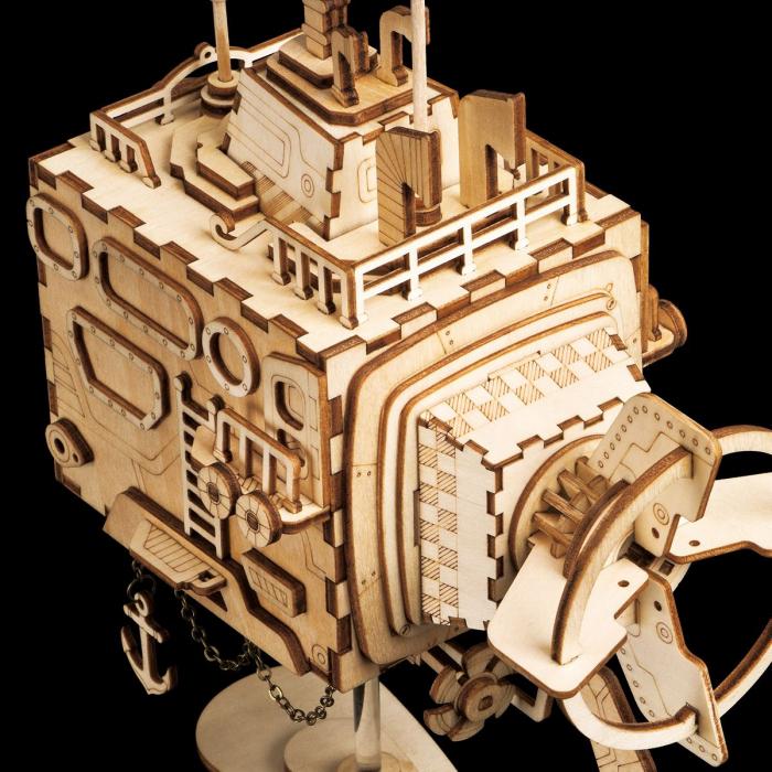 Puzzle 3D Submarine [5]