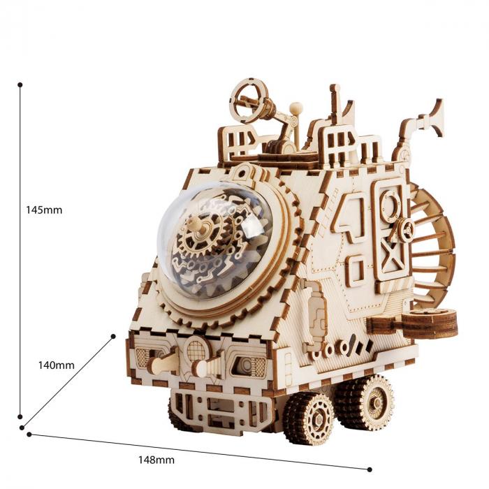 Puzzle 3D Space Vehicle [1]