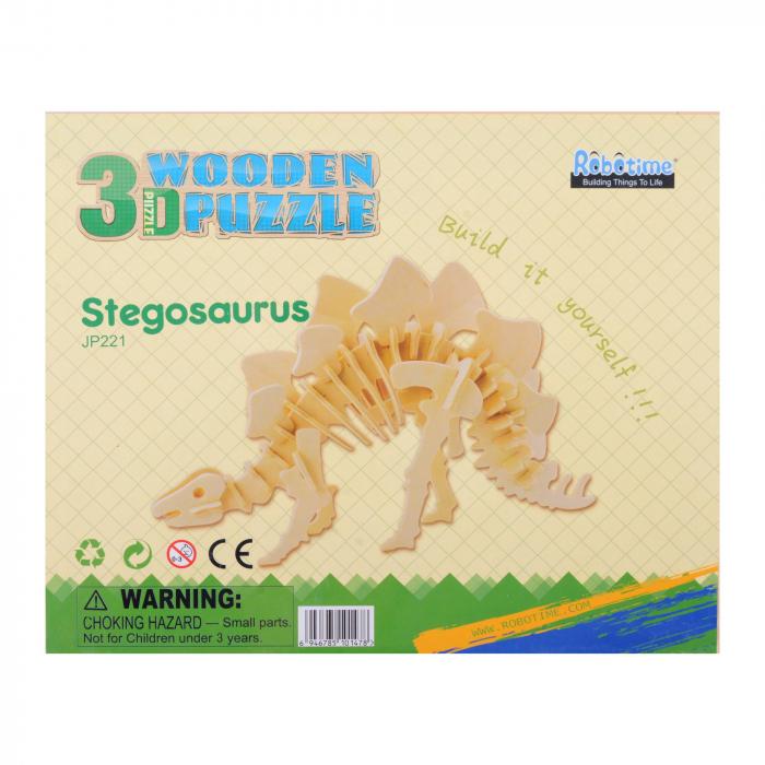 Puzzle 3D Stegosaurus [2]
