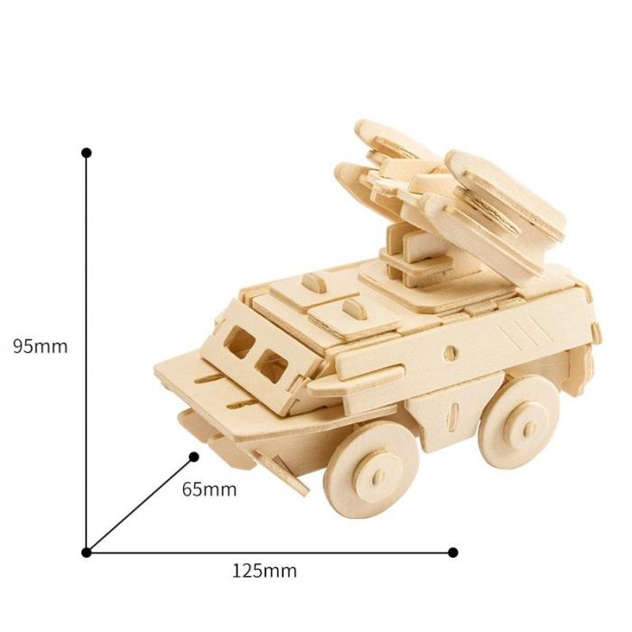 Puzzle 3D Antiaircraft Missile [1]