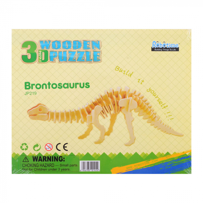 Puzzle 3D Brontosaurus [2]