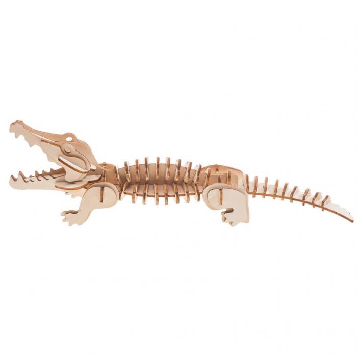 Puzzle 3D Crocodile [1]