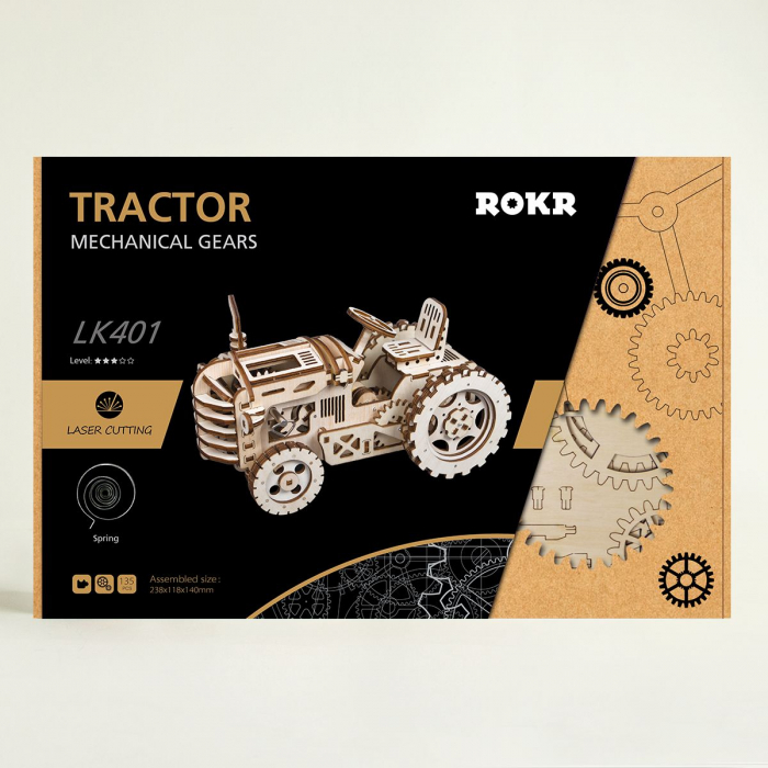 Puzzle 3D Tractor [2]