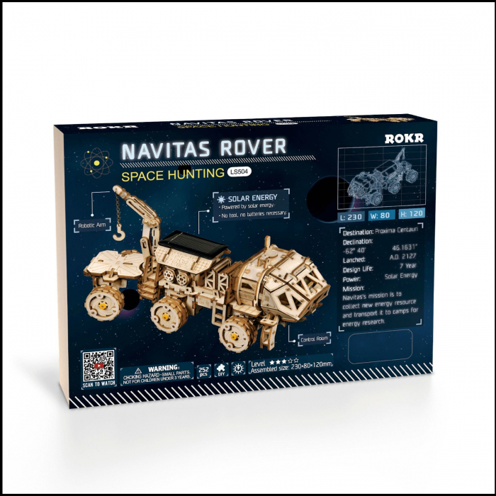 Puzzle 3D Navitas Rover [2]
