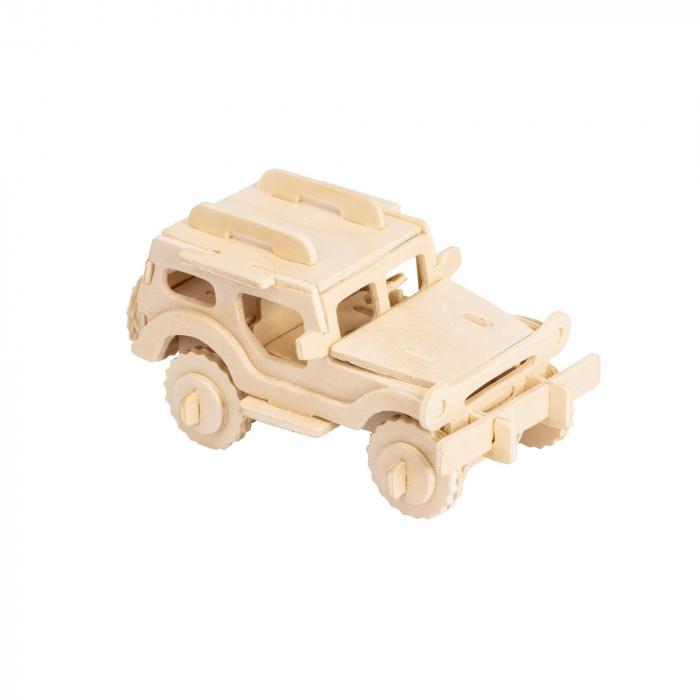 Puzzle 3D Jeep [1]