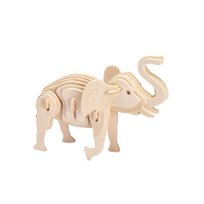 Puzzle 3D Elephant [1]