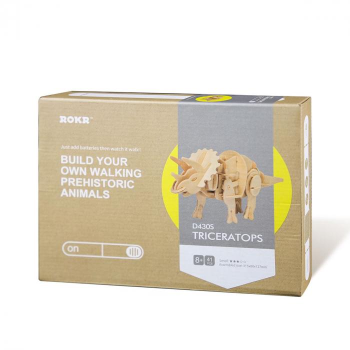 Puzzle 3D Triceratops [2]