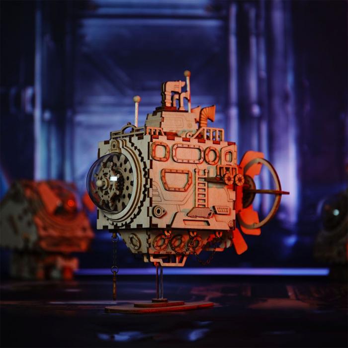 Puzzle 3D Submarine [4]