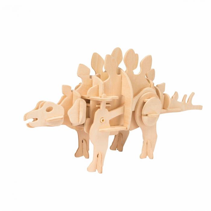 Puzzle 3D Stegosaurus [0]