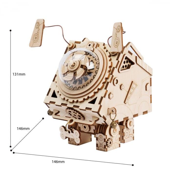 Puzzle 3D Seymour [1]