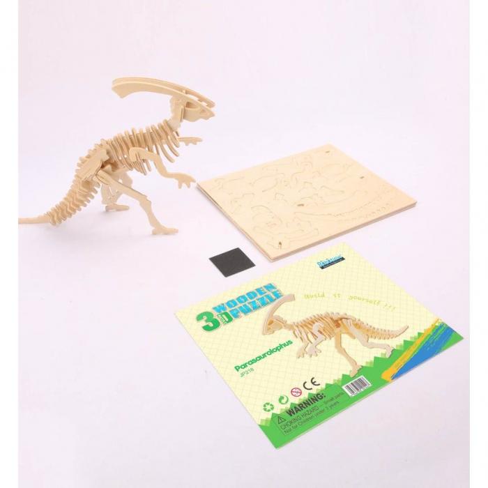 Puzzle 3D Parasaurolophus [1]