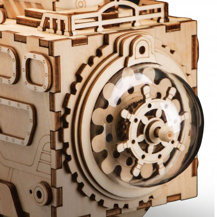 Puzzle 3D Space Vehicle [5]