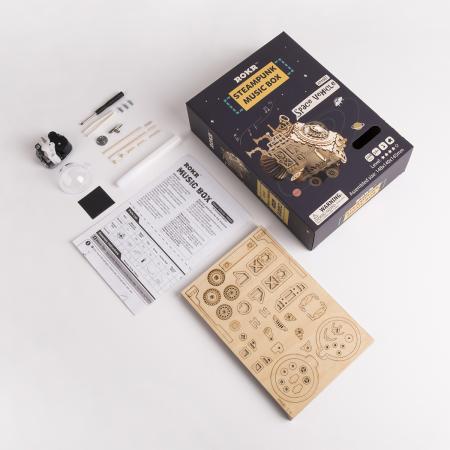 Puzzle 3D Space Vehicle [2]