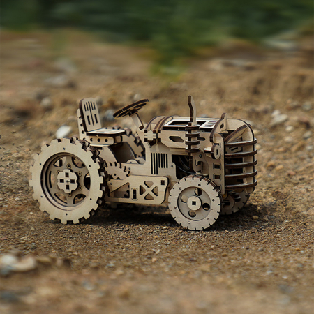 Puzzle 3D Tractor [5]