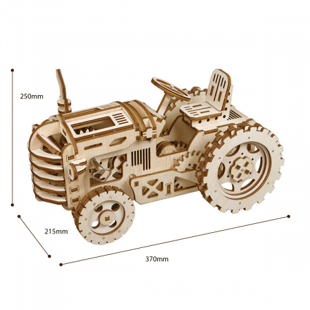Puzzle 3D Tractor [1]