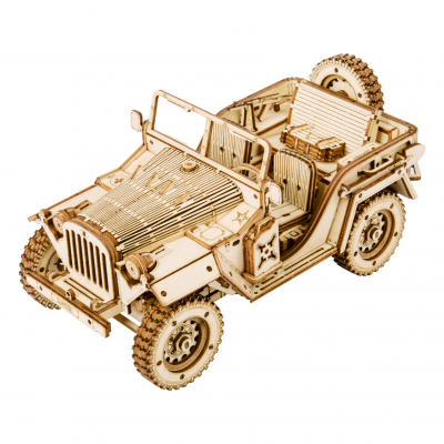 Puzzle 3D Army Jeep [0]
