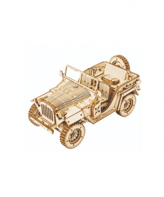 Puzzle 3D Army Jeep [1]