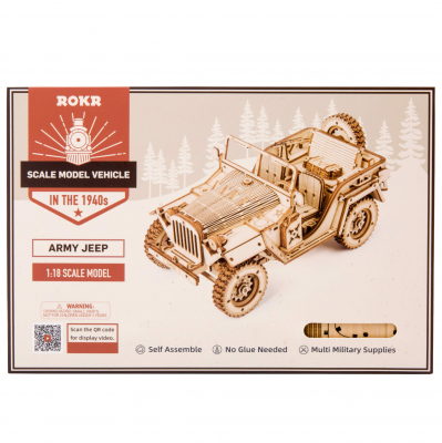 Puzzle 3D Army Jeep [9]